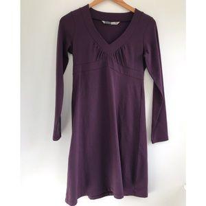 EUC Athleta organic cotton Long sleeve dress XS